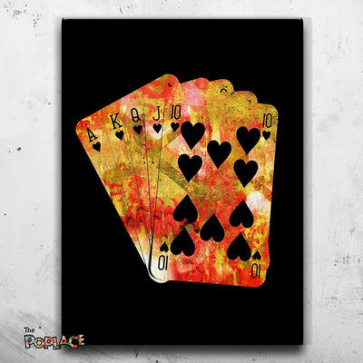 Tableau Poker Red Flush