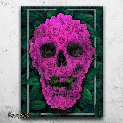 Tableau SKULL JUNGLE