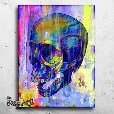 SKULL WATERCOLOR thepoplace