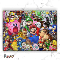 Tableau SUPER SMASH BROS ICONS