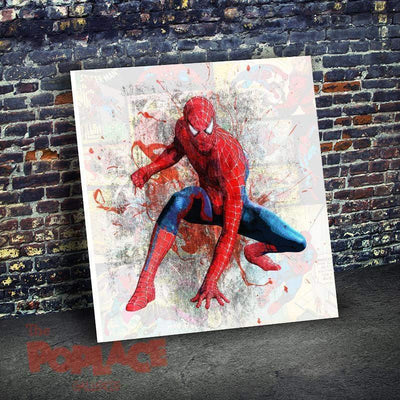 Tableau SPIDERMAN COMICS WHITE