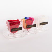Eternity Rose, Transparent Small Cube Box