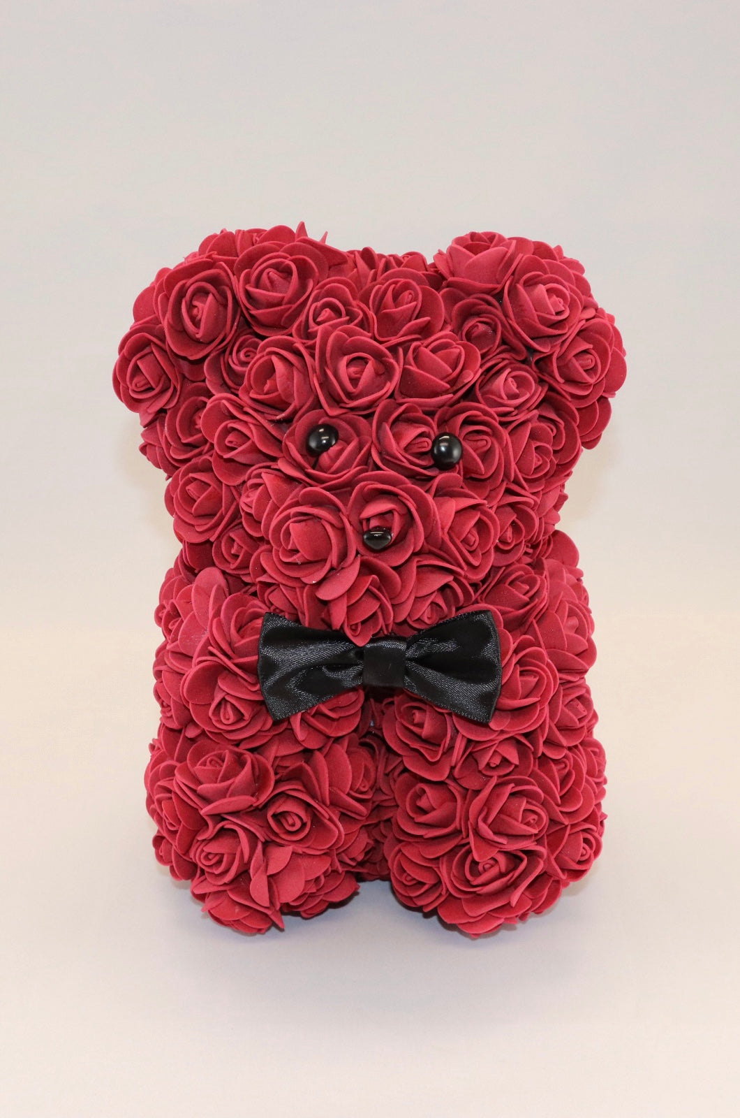 The Roseland Company Red Teddy Bear with Bow