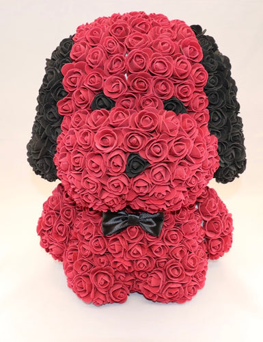 The Roseland Company Red Toy Flower Dog (big size)