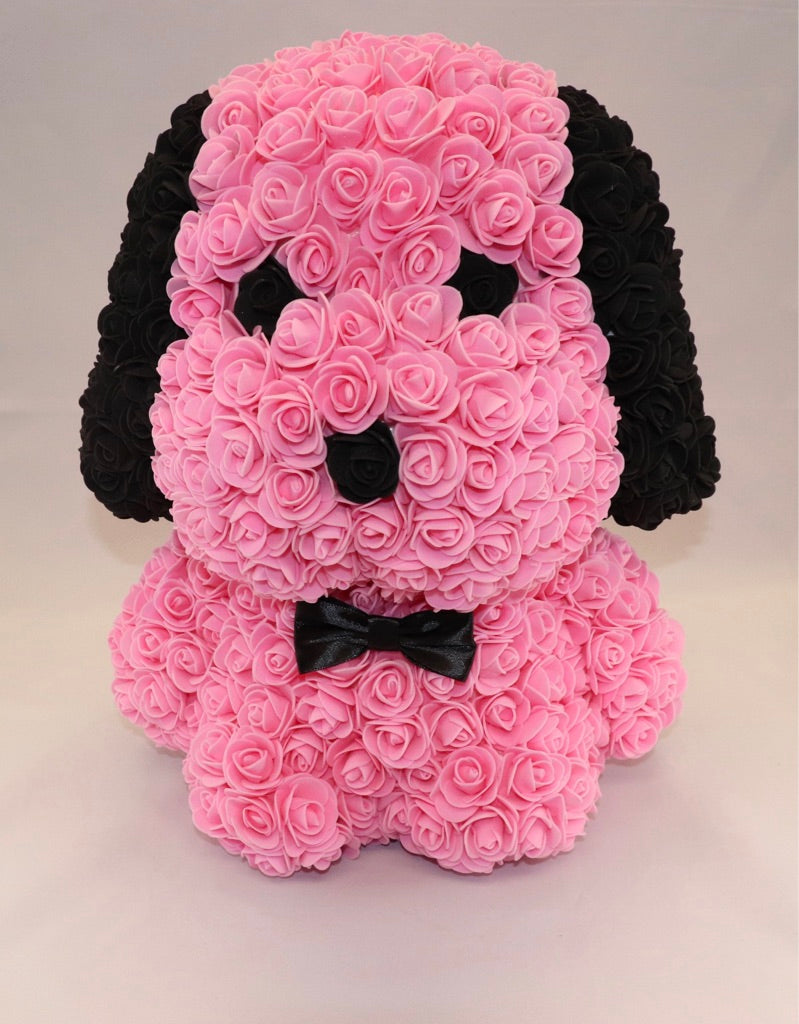 The Roseland Company Pink Toy Flower Dog (big size)