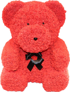 The Roseland Company Teddy Bear with Bow (Giant size)