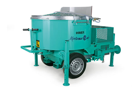 High Quality IMER Mixers for Mortar, Concrete, Grouts, Stucco, Fireproofing & Self Leveling Underlayment