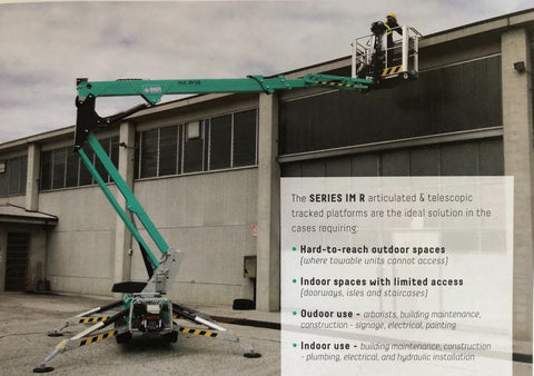 Scissor and Tracked Articulating Lifts