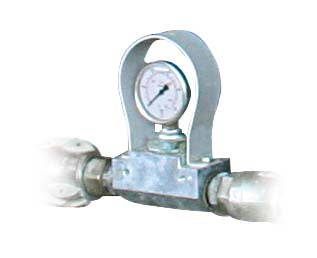 Inline Pressure Gauge for 25mm hose