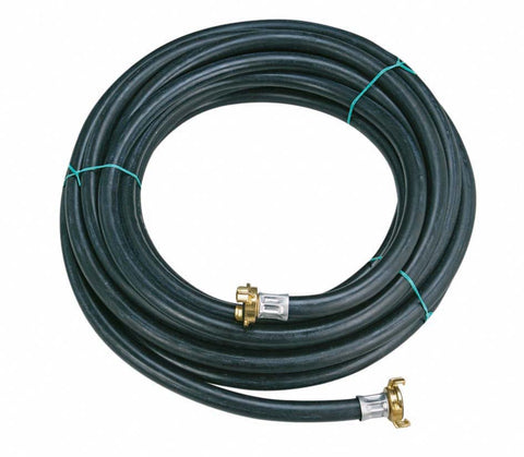 "IMER USA Pump and compressor air hose 13mm 9/16"" with geka brass couplings"