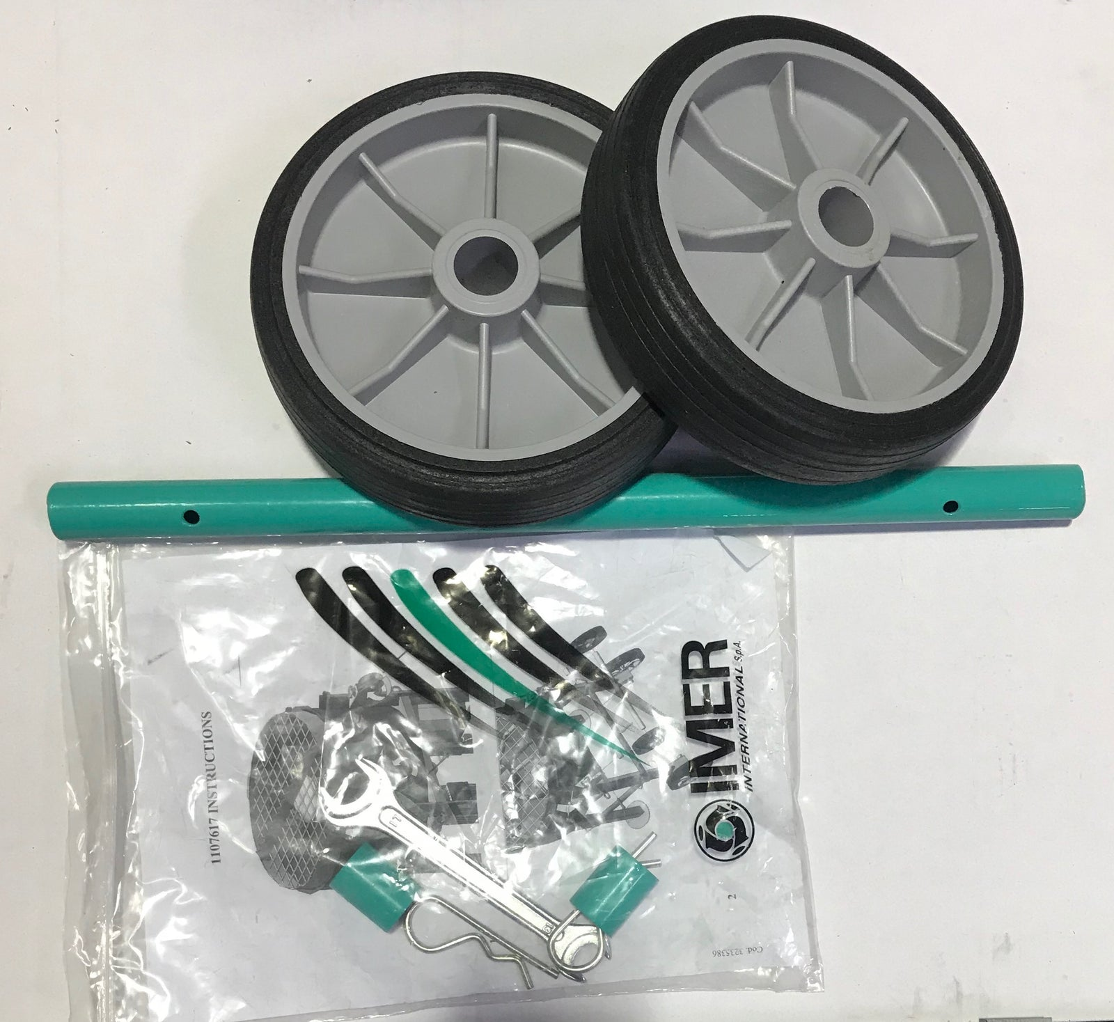 IMER Mortarman 120 Plus Wheel Kit Upgrade