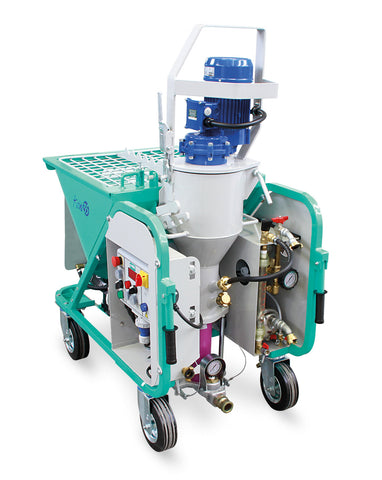 IMER USA Koine 35 electric continuous mixer pump spray machine