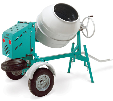 IMER USA Workman 250 II towable barrel mixer