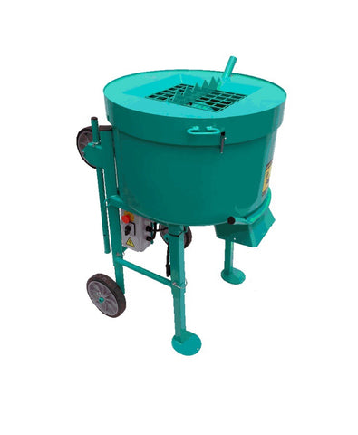 MIX 120 Plus Portable Vertical Shaft Mixer - DUST CONTROL GRATE Model -  Currently out of stock until until MID November 2020