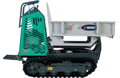 IMER Carry 107 Dump Platform with opening sides.