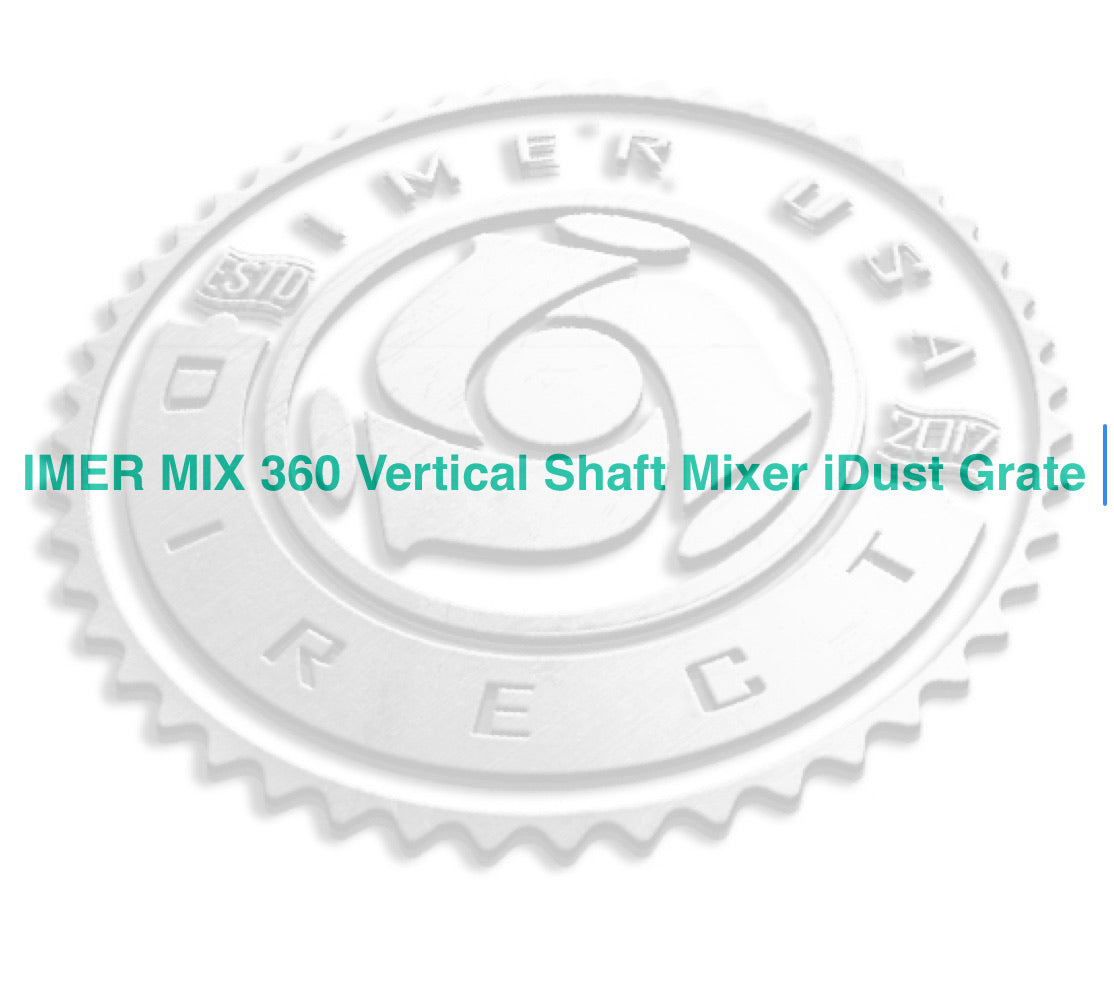 Part Number 1107494 - IMER  iGRATE -   Dust Control Grate for MIX 360 Mixer
