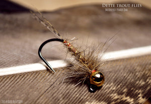 Modified Hares Ear Nymph by Ricky Bassett