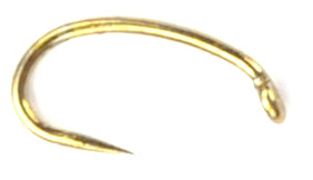 Tiemco 2487BL - Curved Barbless Hook