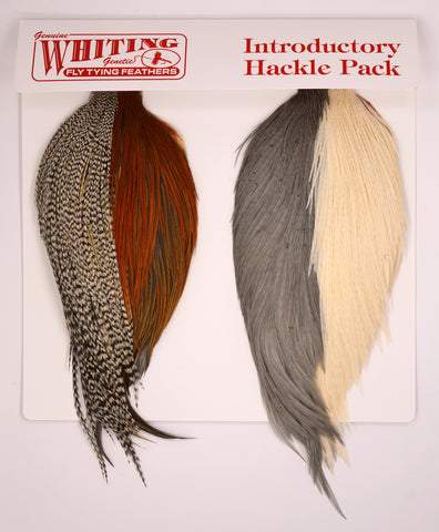 Whiting Farms - Introductory Hackle Pack