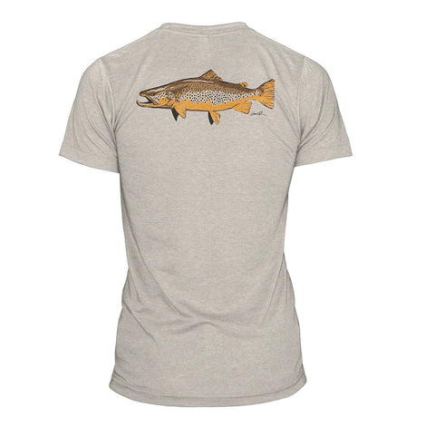 Rep Your Water Artist's Reserve Brown Trout Tee