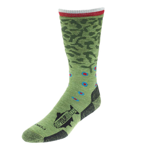 Rep Your Water - Trout Socks | Brook Trout