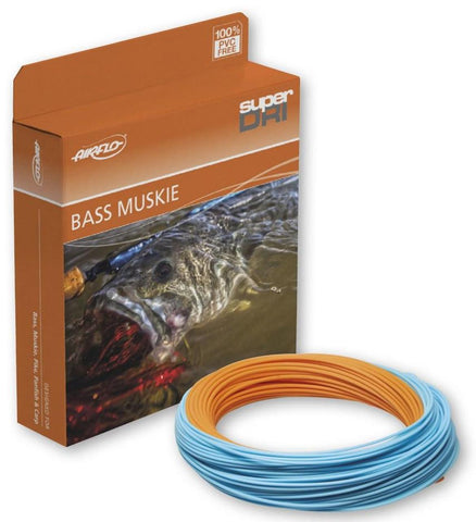 AirFlo Super-DRI Bass/Muskie Floating Fly Line