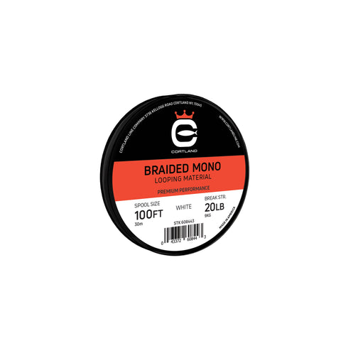 Cortland Braided Mono Looping Material