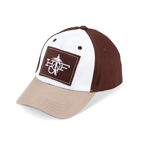 Hook & Fly Brown/White Hat