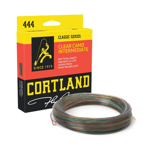 Cortland 444 - Clear Camo Intermediate Fly Line