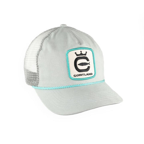 Cortland Gray Captain Trucker Hat
