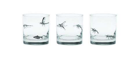 Rep Your Water Mayfly Lifecycle Old Fashioned Glas
