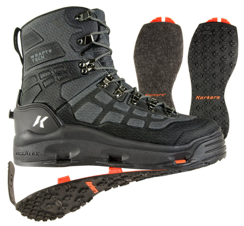10% off - Korkers Wraptr Wading Boot