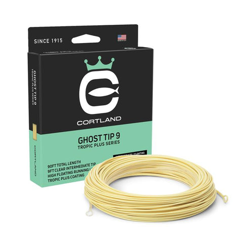Cortland Tropic Plus - Ghost Tip 9 Fly Line