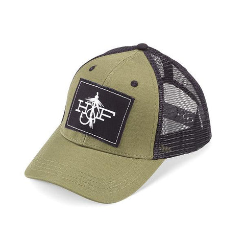 Hook & Fly Olive/Black Trucker Hat