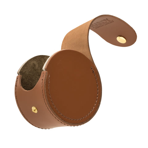 Hardy HBX Leather Reel Case