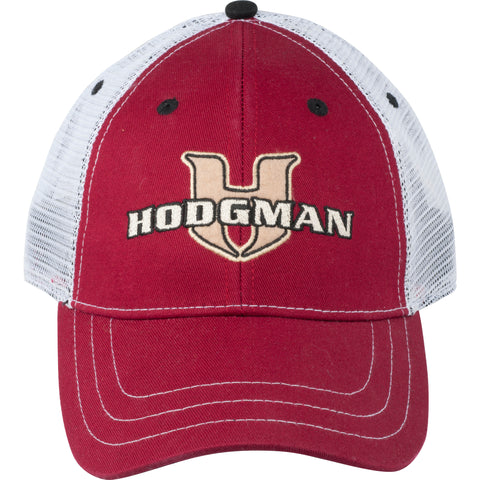 Hodgman Trucker Patch Hat Maroon