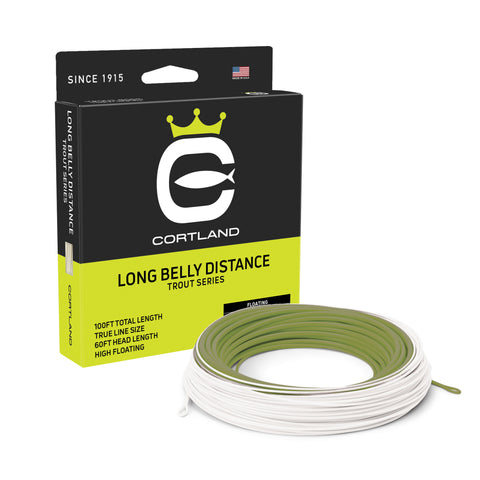 Cortland Trout Series - Long Belly Distance Fly Line