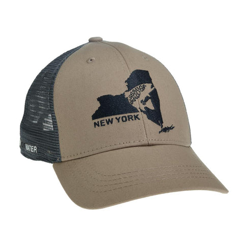 RepYourWater - New York Brown Trout Hat