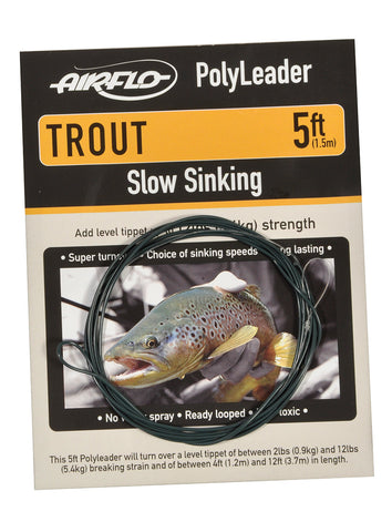 Airflo Poly Leaders - Trout