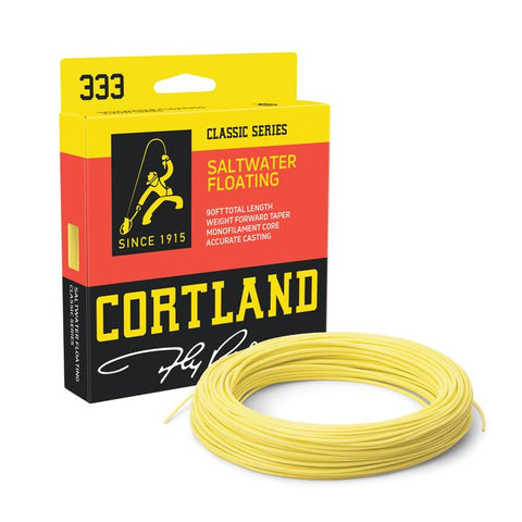 Cortland 333 - Saltwater Floating Fly Line