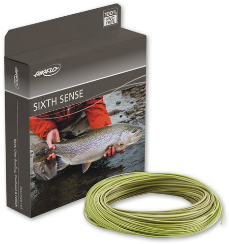 AirFlo Sixth Sense Slow Intermediate Fly Line
