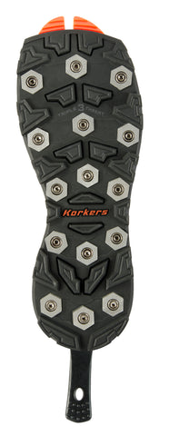 Korkers OmniTrax Triple Threat - Aluminum Hex
