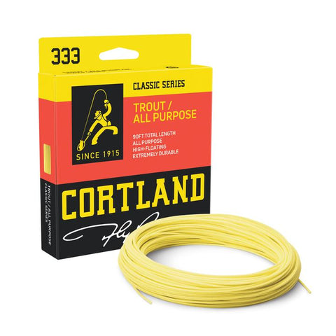 Cortland 333 – Classic Trout / All Purpose Floating Fly Line
