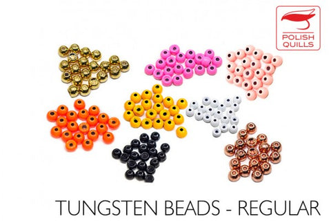 Countersunk Tungsten Beads by Polish Quills