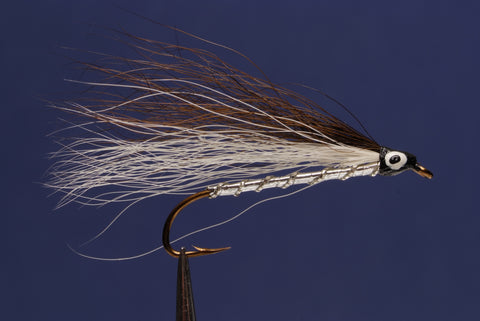 Brown & White Bucktail