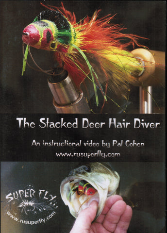 The Stacked Deer Hair Diver with Pat Cohen - DVD
