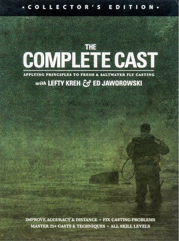 The Complete Cast with Lefty Kreh Collector's Edition DVD