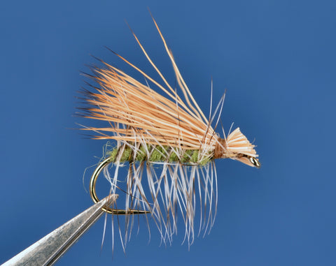 Elk Hair Caddis - Green