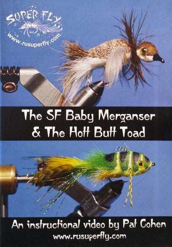 The SF Baby Merganser & The Hott Butt Toad with Pat Cohen - DVD