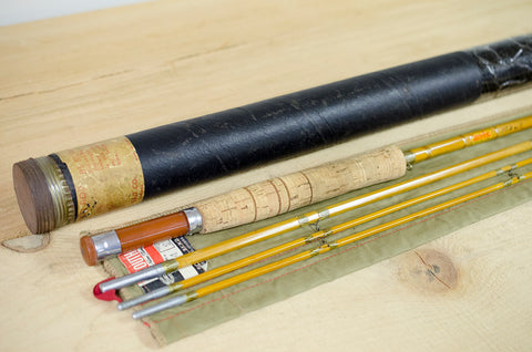 "South Bend #24 9'0"" 6wt Bamboo Fly Rod"